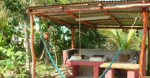 The Grey Owl's nest in Benque del Carmen, Belize - the palce you make your food