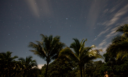 San Ignacio Belize - A stary, stary night at Lower Dover Jungle Lodge