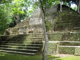Cahal Pech located right in San Ignacio Belize
