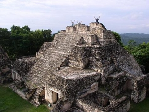 The Big Pyramid at Caracol in Mountain Pine Ridge