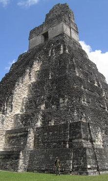 The big tower at Tikal - Guatemala